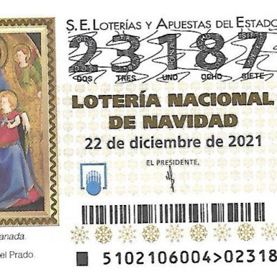 LOTERIA DE NAVIDAD DEL COLEGIO.